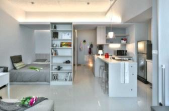 Stylish studio apartment floor plans ideas 22