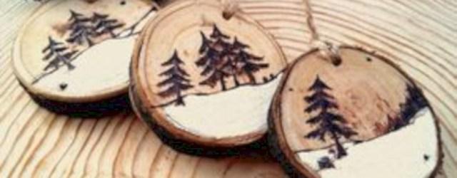 Stylish wood christmas decoration ideas 06