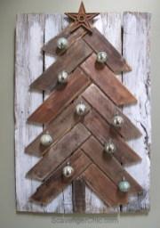 Stylish wood christmas decoration ideas 17
