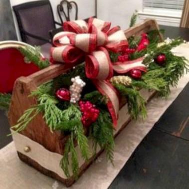 Stylish wood christmas decoration ideas 18
