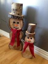 Stylish wood christmas decoration ideas 20