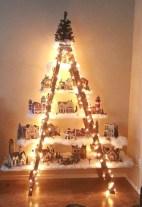Stylish wood christmas decoration ideas 22