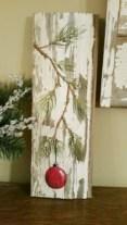 Stylish wood christmas decoration ideas 37