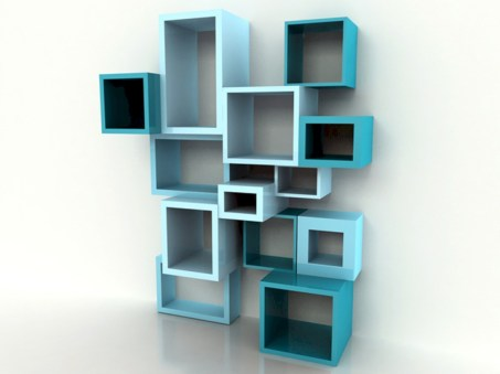 Unique and modern wall shelves beautiful storage ideas 02