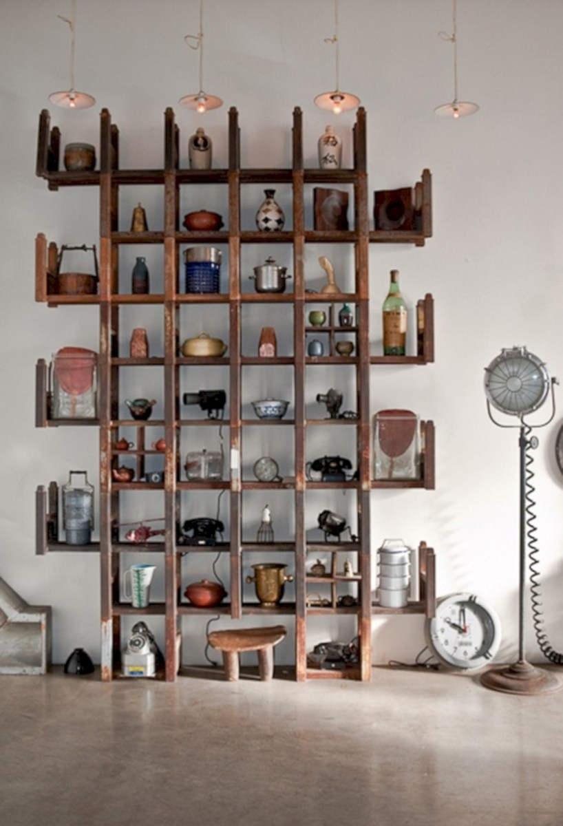 Unique and modern wall shelves beautiful storage ideas 23