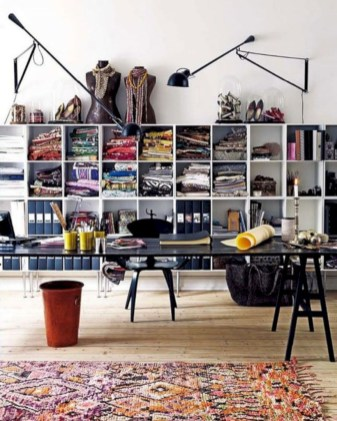 Unique and modern wall shelves beautiful storage ideas 34
