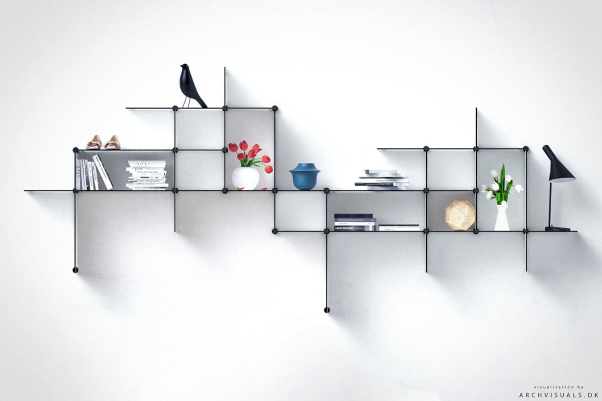 Unique and modern wall shelves beautiful storage ideas 35