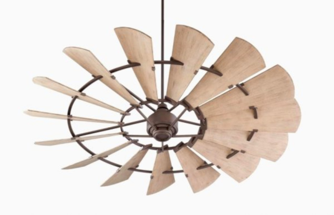 Unique modern antique rustic ceiling fans ideas for indoor and outdoor 31