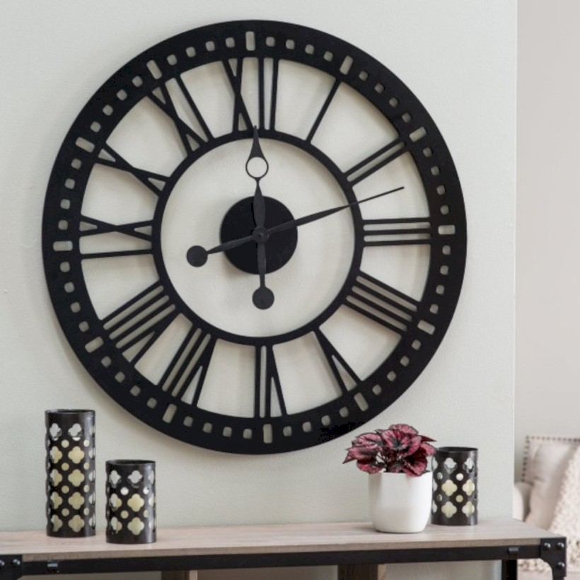 Unique modern style wall clocks inspirations ideas 32