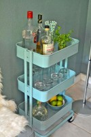 Affordable apartment coffee bar cart inspirations ideas 28