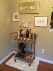 Affordable apartment coffee bar cart inspirations ideas 31