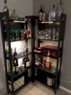 Affordable apartment coffee bar cart inspirations ideas 33