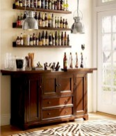 Affordable apartment coffee bar cart inspirations ideas 37
