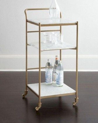 Affordable apartment coffee bar cart inspirations ideas 40
