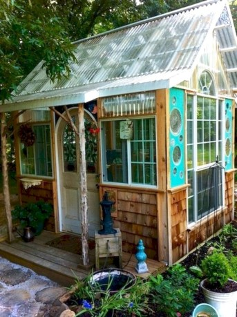 Awesome garden shed design ideas 21