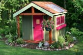 Awesome garden shed design ideas 22