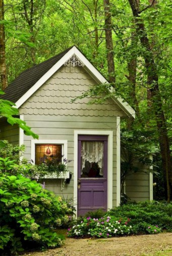 Awesome garden shed design ideas 41