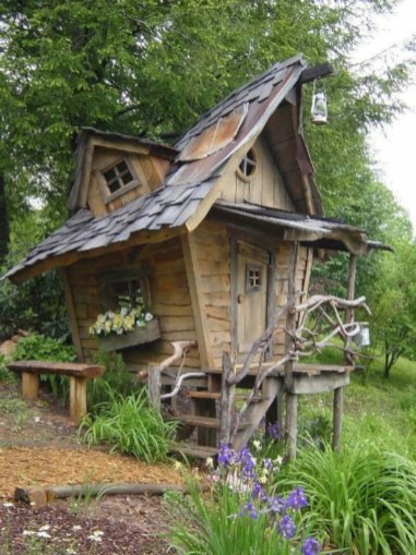 Awesome garden shed design ideas 42