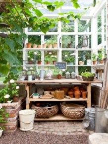 Awesome garden shed design ideas 47