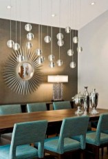 Awesome mid century modern dining room table decor ideas 18