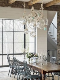 Awesome mid century modern dining room table decor ideas 28