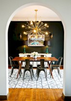 Awesome mid century modern dining room table decor ideas 40