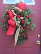 Awesome valentine wreaths ideas for your front door 05