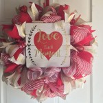 Awesome valentine wreaths ideas for your front door 26