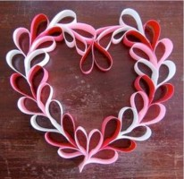 Awesome valentine wreaths ideas for your front door 33