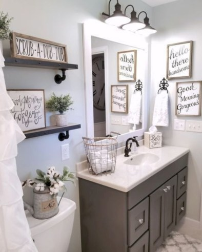 Beautiful bathroom decorations inspirations ideas (38)