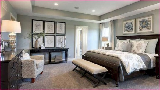 Beautiful farmhouse master bedroom decorating ideas 18