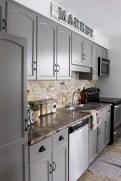 Beautiful gray kitchen cabinet design ideas 01