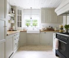 Beautiful gray kitchen cabinet design ideas 11