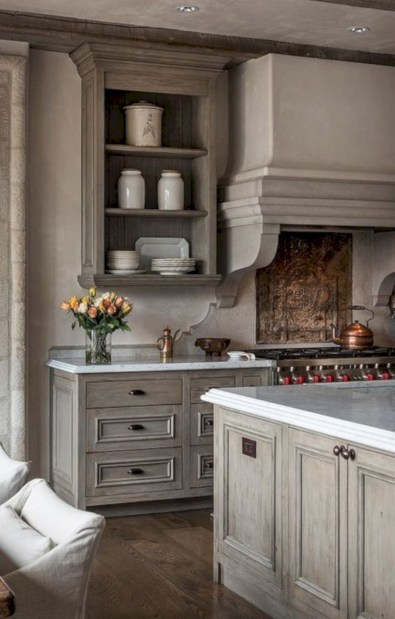 Beautiful gray kitchen cabinet design ideas 13