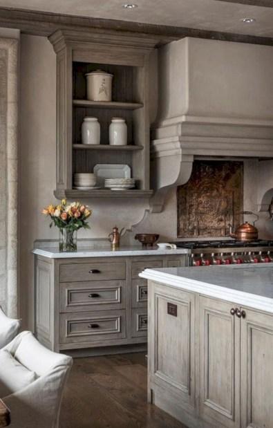 Beautiful gray kitchen cabinet design ideas 13