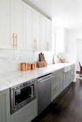 Beautiful gray kitchen cabinet design ideas 14