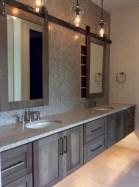 Beautiful gray kitchen cabinet design ideas 28