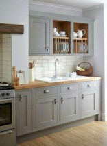 Beautiful gray kitchen cabinet design ideas 44