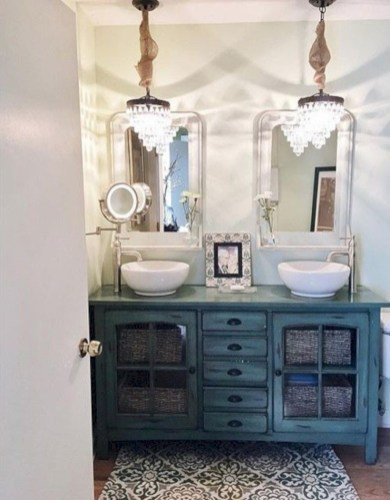 Best bathroom vanity ideas you should have at home (33)