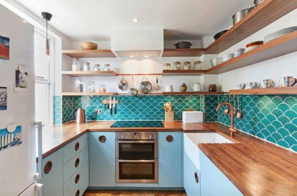 Best small kitchen remodel design ideas 43
