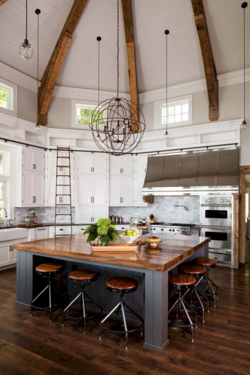 Best tips to makes farmhouse decoration style easily (14)