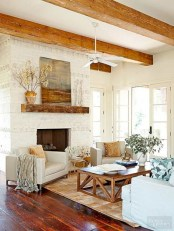 Best tips to makes farmhouse decoration style easily (19)