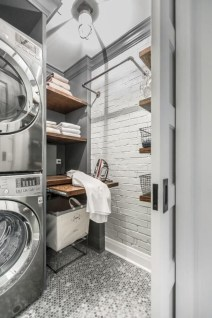 Brilliant small laundry room storage organization ideas on a budget 07