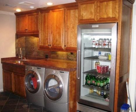 Brilliant small laundry room storage organization ideas on a budget 18
