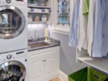 Brilliant small laundry room storage organization ideas on a budget 20