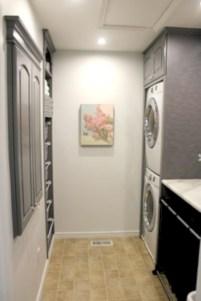 Brilliant small laundry room storage organization ideas on a budget 28