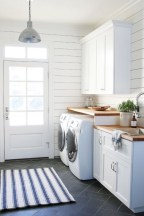 Brilliant small laundry room storage organization ideas on a budget 31