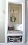Brilliant small laundry room storage organization ideas on a budget 43