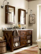 Captivating small farmhouse bathrooms decoration ideas (4)