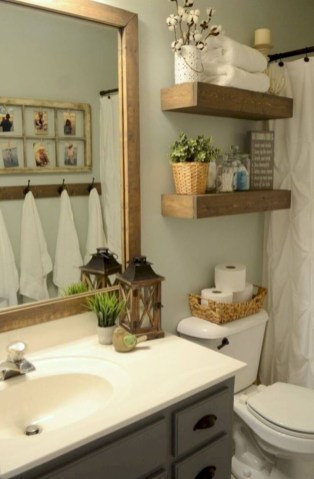 Captivating small farmhouse bathrooms decoration ideas (46)